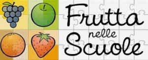 frutta e verdure nella scuola
